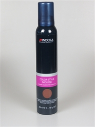 Indola natural brown color mousse 200 ml
